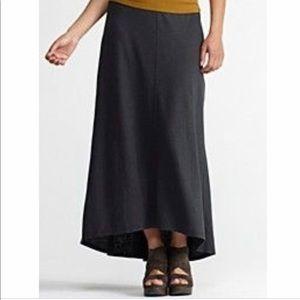Eileen Fisher Hemp and Cotton Maxi Skirt Size XS